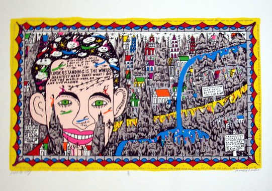 Howard Finster, Labulo City, 1990