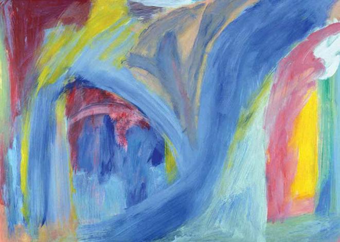 M.C. Richards, Bowing in the Pedlar Hills (detail), 2007