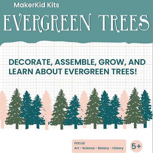 EVERGREEN TREES MAKERKID KIT