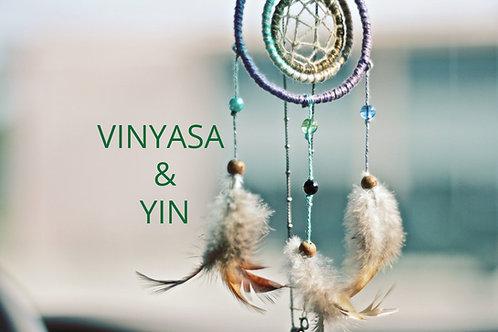 FULLT! Vinyasa & Yin med Sunniva onsdag 20:00-21:30