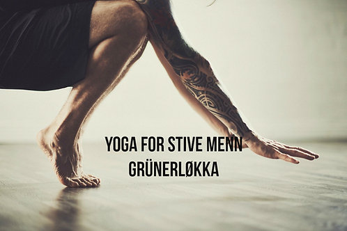 Løkka | Yoga for Stive Menn torsdag 19:30-20:45