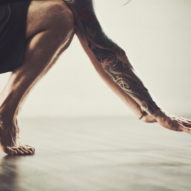 Mandag 20:10 Yoga for Stive Menn