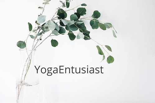 Yogaentusiast ingen bindning