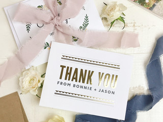 Working Momma Diaries: Custom Stationary & Thank You Cards