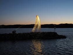 OUTLINES II, Larvik Havn.