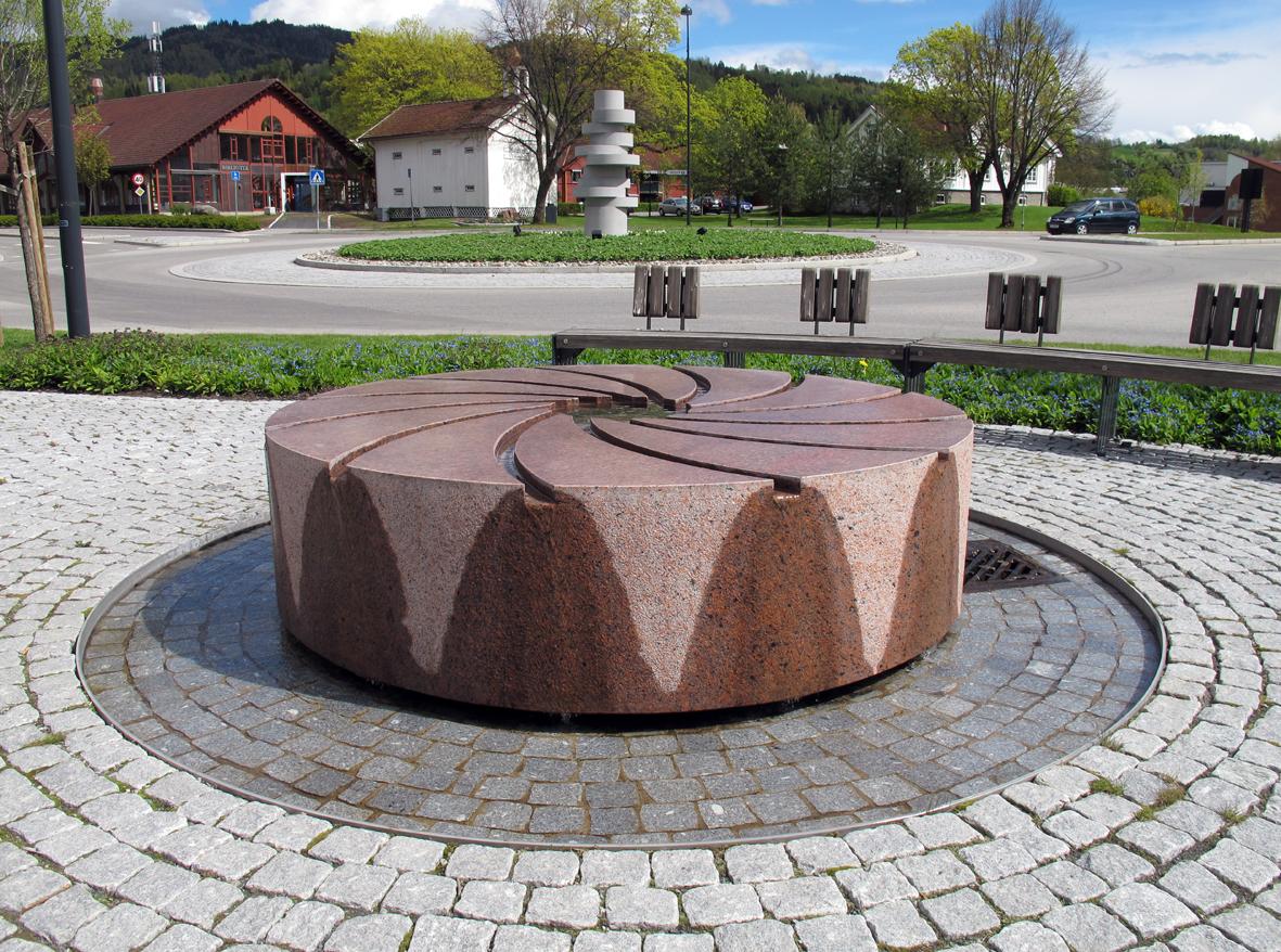 MØLLEPARKEN, Brumunddal.