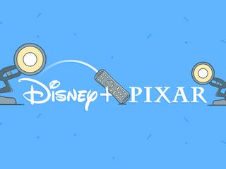Pixar Films and Disney+
