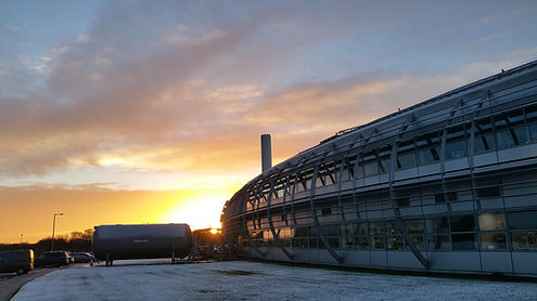 Sunrise at Diamond Light Source