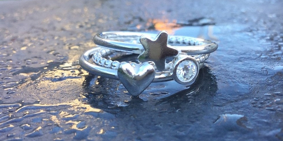 SOLD OUT - SILVER STACKING RINGS