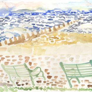 Portobello benches