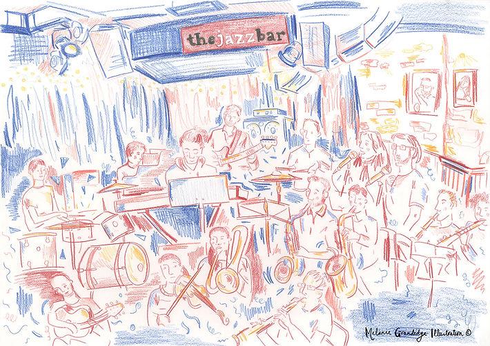 Jazz Bar Tinderbox Melanie Grandidge sma