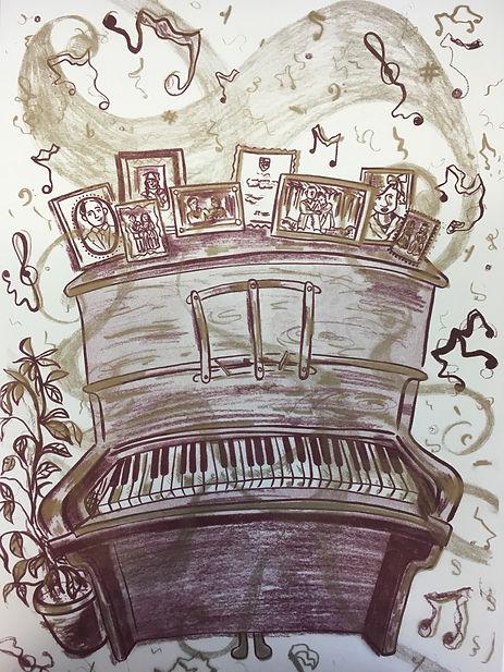 Piano Risograph