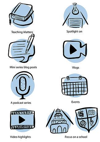Teaching Matters Icons Mel G ©