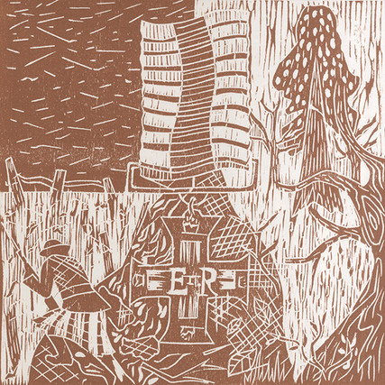 WW100 Woodcut