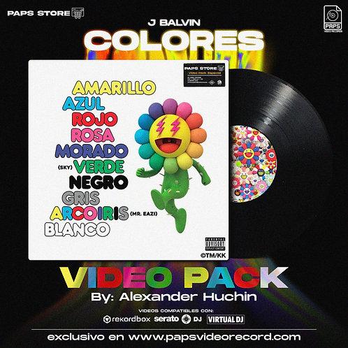 Pack Album Colores - J Balvin