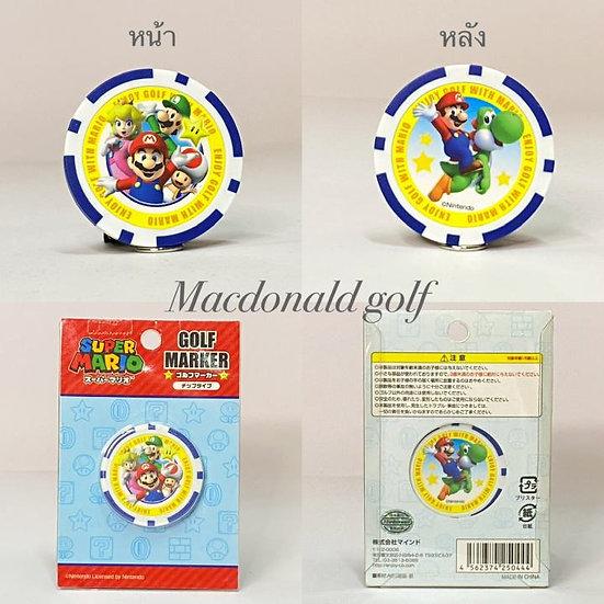 Golf Ball marker Super Mario