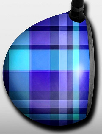 Plaid Blue and Torquiose
