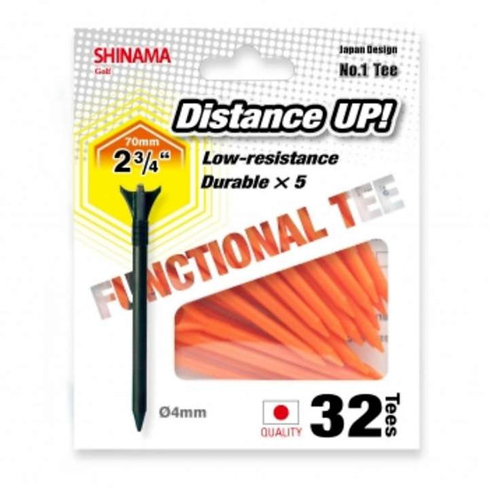 Golf Tee Distance up 70mm-Orange