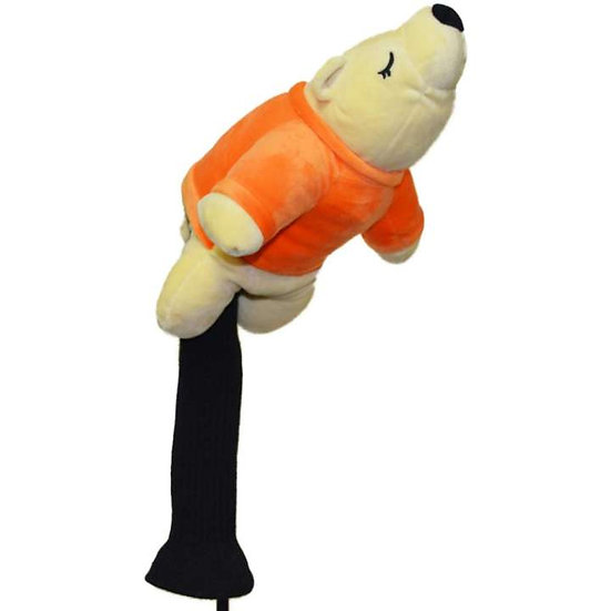 Golf Head Cover Bear-Orange