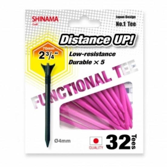 Golf Tee Distance up 70mm-Pink