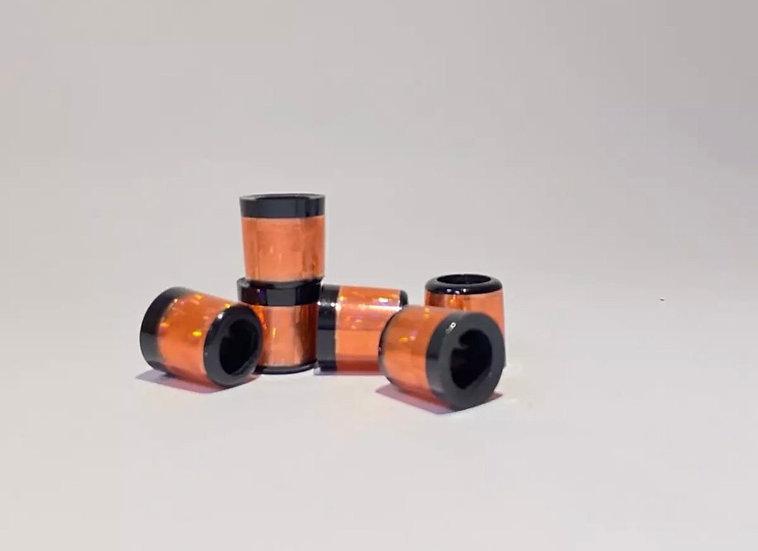 Golf Ferrules (SET10)-ส้ม