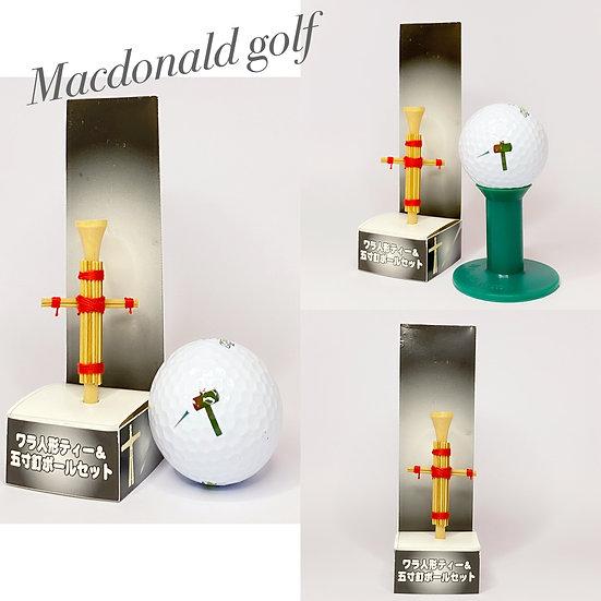 Golf Ball Set-ตุ๊กตาฟาง