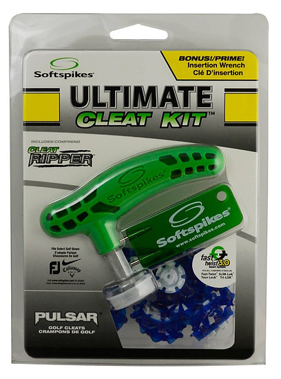 Softspikes Ultimate Cleat Kit Pulsar Fast Swtst 3.0 Blue