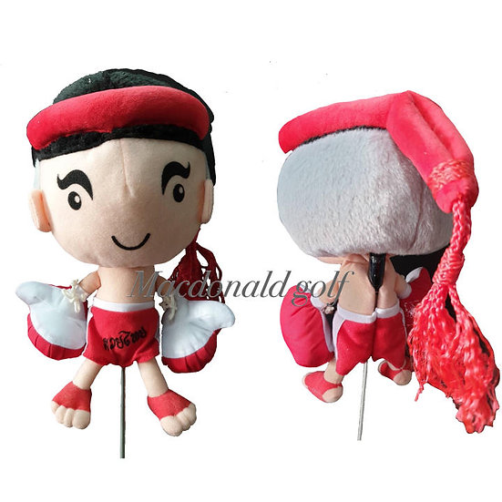 Golf Head Cover Driver MascotThai boxing