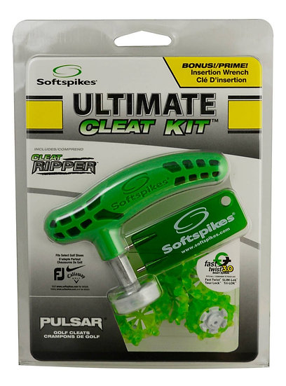 Softspikes Ultimate Cleat Kit Pulsar Fast Twist 3.0 Green