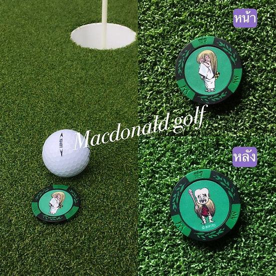 Golf Ball marker ทารกเฒ่าขี้แง