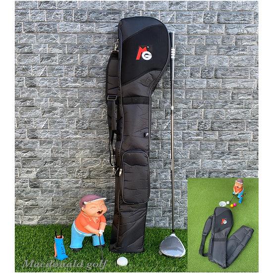 Half Set MG -กระเป๋าใส่ไม้กอล์ฟพับได้-Black