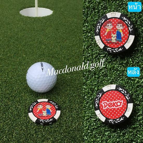 Golf Ball marker Peko