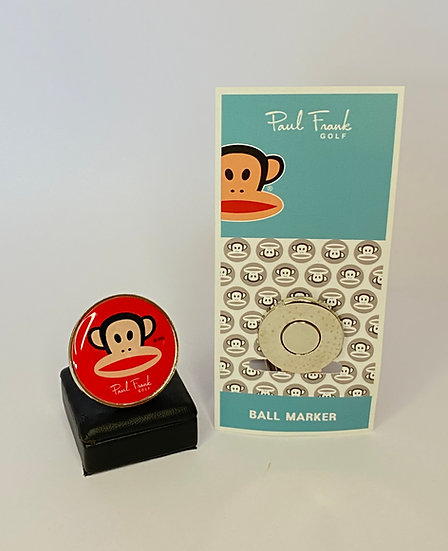Paul Frank Ball Marker - with Hat Clip