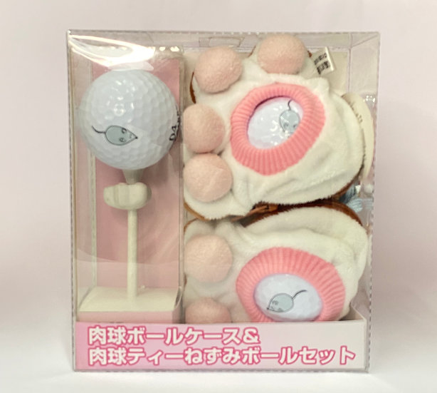 Golf Ball Holder&ball&Tee Set