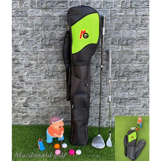 Half Set MG -กระเป๋าใส่ไม้กอล์ฟพับได้-Green