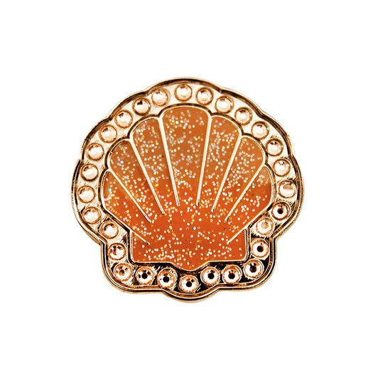 Navika Shell Ball Marker Crystals Swarovski® with Hat Clip