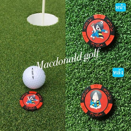 Golf Ball marker คิทาโร่