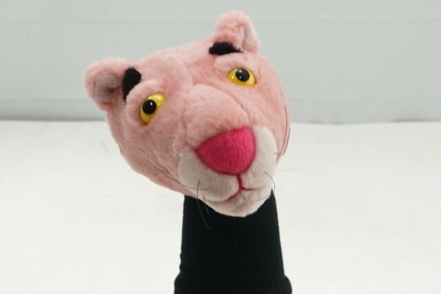 Golf Head Cover Pink Panther Golf Headcover Hybrid