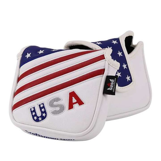 Cover CM For Putter Mallet U.S.A Ret&White&Blue (Large)