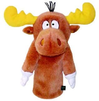 Golf Head Cover  Winning Edge Bullwinkle Moose