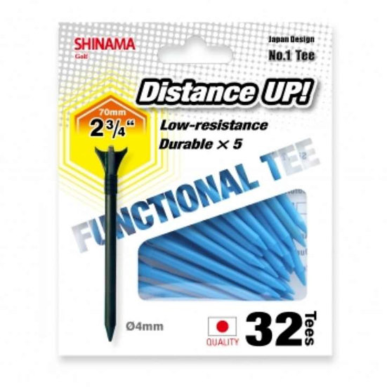 Golf Tee Distance up 70mm-SKY BLUE