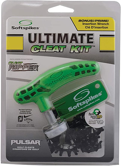 Softspikes Ultimate Cleat Kit Black