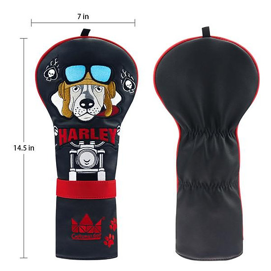Craftman for Driver Harley Motorcycle Dog Leather