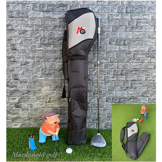 Half Set MG -กระเป๋าใส่ไม้กอล์ฟพับได้-Gray