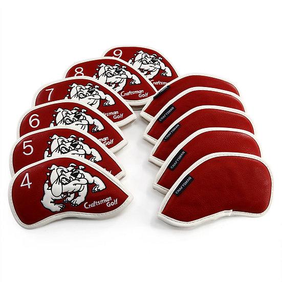 Cover Iron Craftsman Bulldog *NEW*-Red