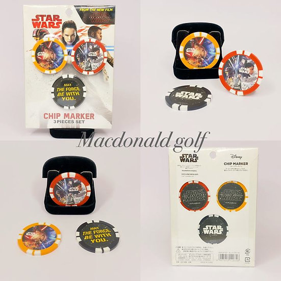 Golf Chip marker STAR WARS -3 pieces set
