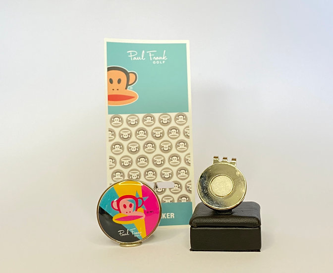 Paul Frank Star Ball Marker - with Hat Clip