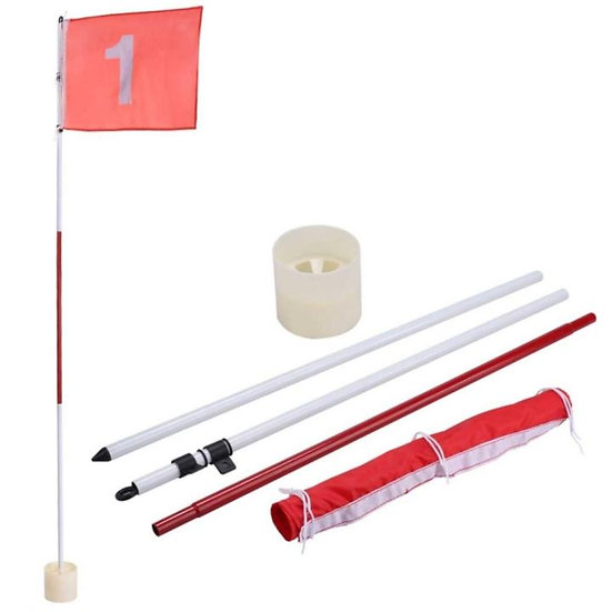 Golf Flag and Cup Set