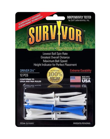 Golf Tees SURVIVOR 3-1/4