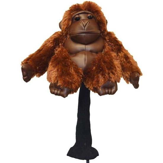 Golf Head Cover Gorilla-Brown